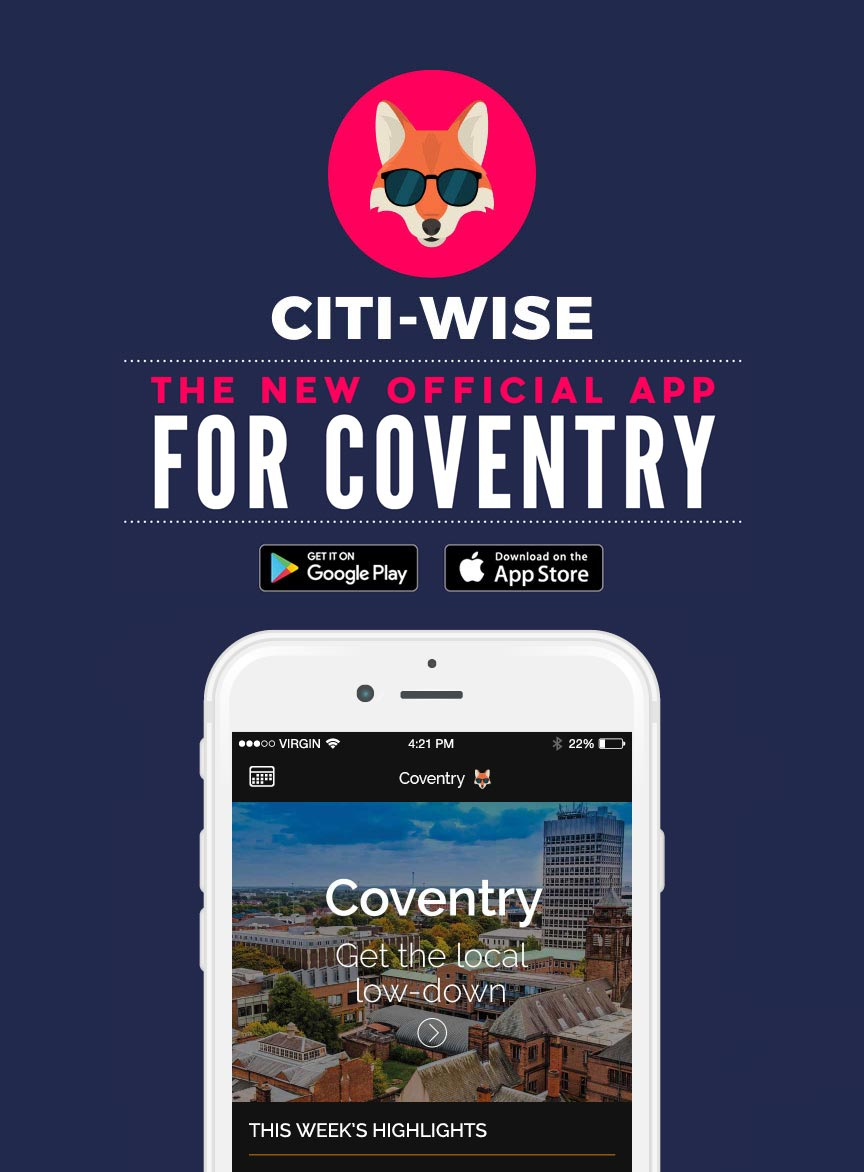Citi-Wise: The new official app for Coventry